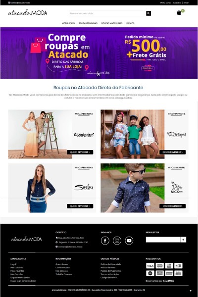 Atacado Moda | Atacado Roupas Femininas, Masculinas, Infantis e Moda Praia