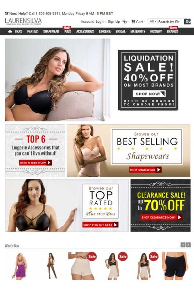 Shapewear || Bras || Lingerie || Accessories And More In Regular and Plus Size